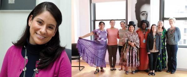 Pesar por el fallecimiento de joven aliada de las mujeres indígenas