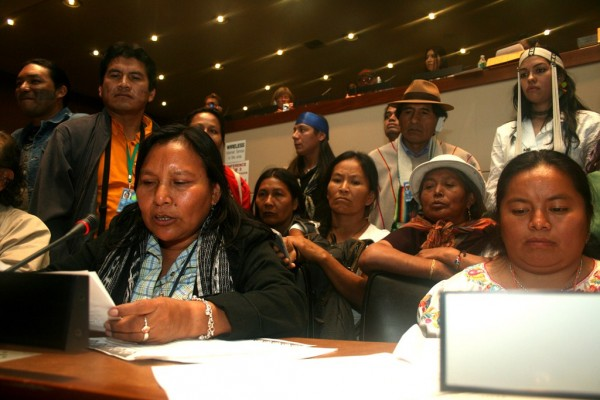 Indigenous women request UN to nominate a facilitator for world-level meeting
