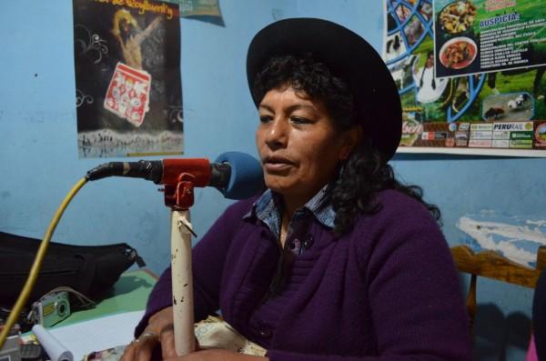 Fallece destacada líder indígena quechua de Perú