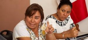 Mujeres indígenas denuncian desplazamiento de sus tierras