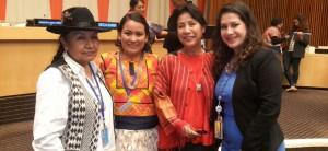 Mujeres indígenas exigen ante la ONU reconocimiento de sus conocimientos ancestrales