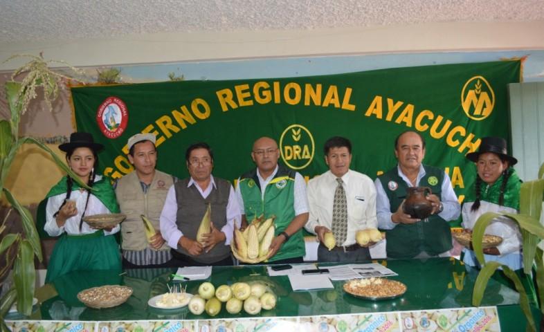 I Festival del Maíz Orgánico a realizarse en Ayacucho