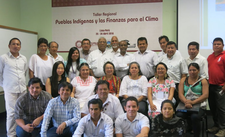 Indígenas demandan participación en manejo del Fondo Verde para el Clima